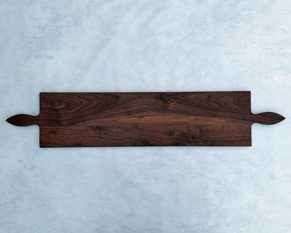 50 Inch- WALNUT Double Handle Wooden Serving Platter