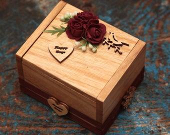 Ring bearer personalised box