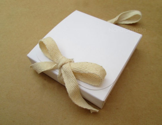 Bulk White Box White Gift Box Wedding Favor Box Set Of 50 Etsy