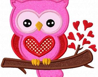 Valentines Day Owl Etsy