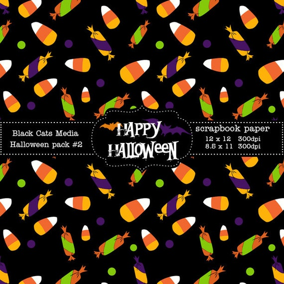 graphic about Printable Halloween Paper referred to as Halloween Paper Printable Halloween Electronic Paper - Halloween Get together - Instantaneous Obtain 12 x 12 in just AND 8.5x11 inside of -