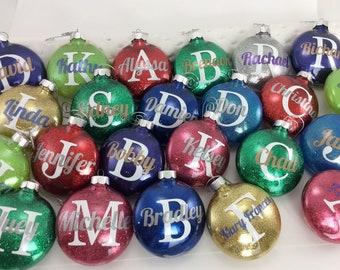 popular items for glitter ornaments