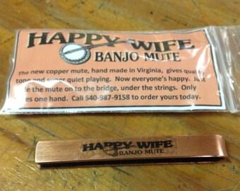 The Happy Wife Copper Banjo Mute