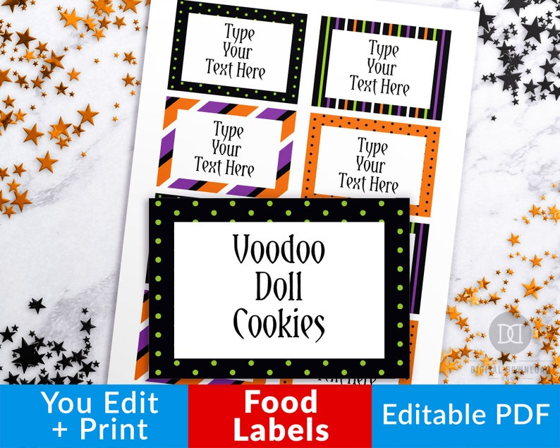 photograph about Printable Halloween Tags called Halloween Food stuff Labels Printable, Halloween Editable Foodstuff Tags, Halloween Buffet Card Printable, Halloween Foods Playing cards, Desk Desired destination Playing cards PDF
