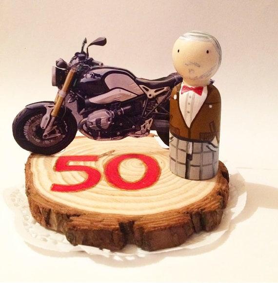 Cake Topper 50 Anni Festa Di Compleanno Torta Compleanno Decorazioni Per Torte Di Compleanno 50 Anni Uomo Cake Topper Personalizzato