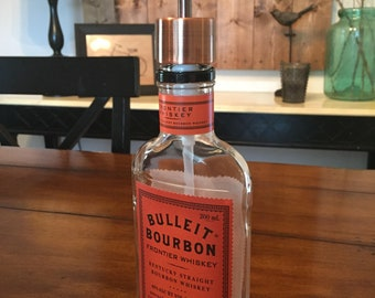 SALE!  Bulleit Bourbon Bottle Soap Dispenser (200ml)