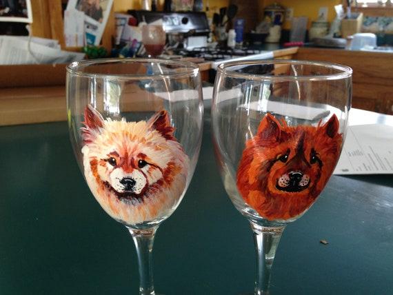 Dog Wine Glass Cat Wine Glass Custom Wine Glass Pet Wine Etsy