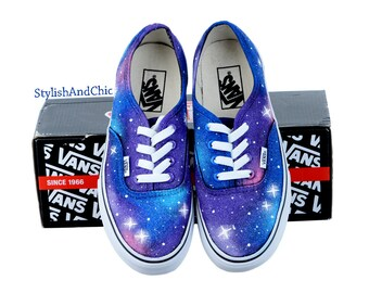 376b8ac665 Galaxy Vans - Hand Painted