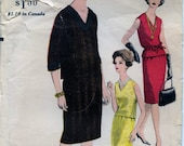 SALE 1950s Vogue 5727 Misses 39 Two Piece Dress Sewing Pattern CUT