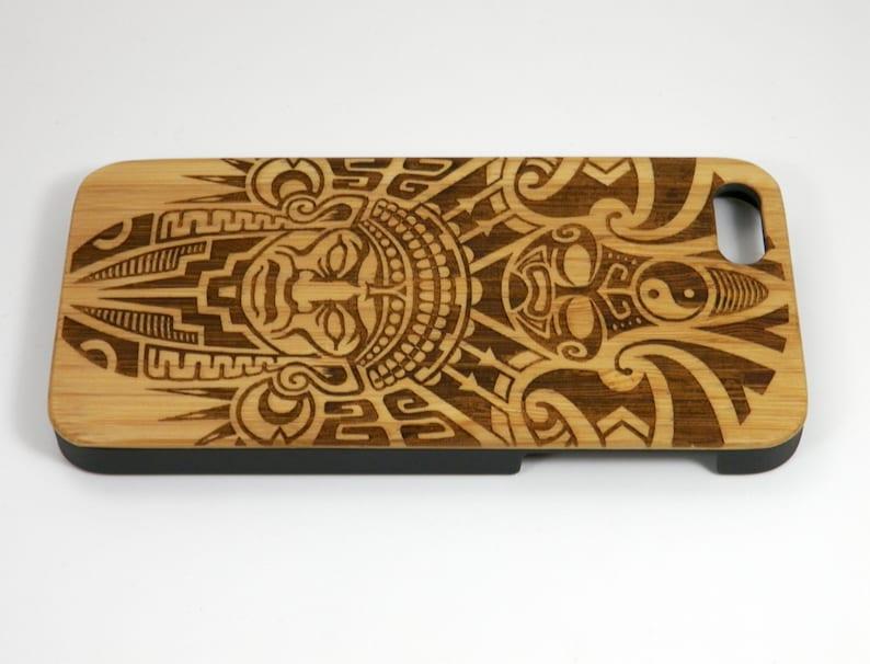 99f6c29ea Aztec Pattern iPhone 7 Plus Case. Tribal Warrior Mask Ritual   Etsy