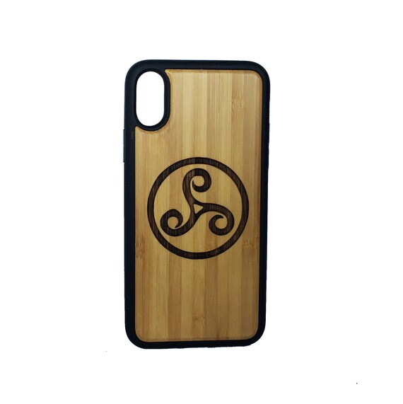 Triskele Symbol Iphone Case Cover For Iphone X By Imakethecase Etsy