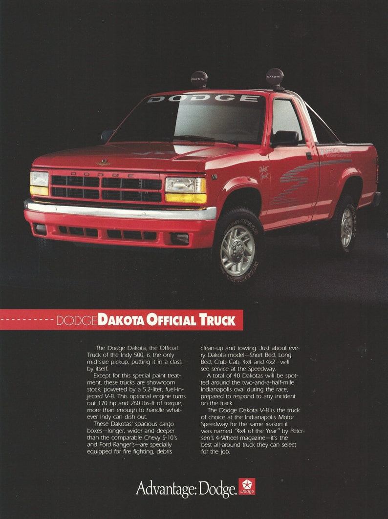 1991 dodge truck colors