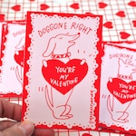 Dog Valentines for you or your dog - Screen Printed