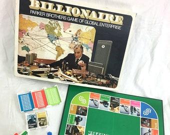 "Vintage ""Billionaire"" Board Game ca. 1973"