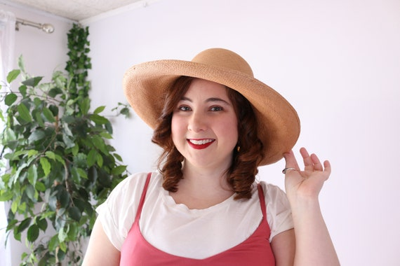 Vintage Straw Hat - Finely Made Straw Hat - Intric