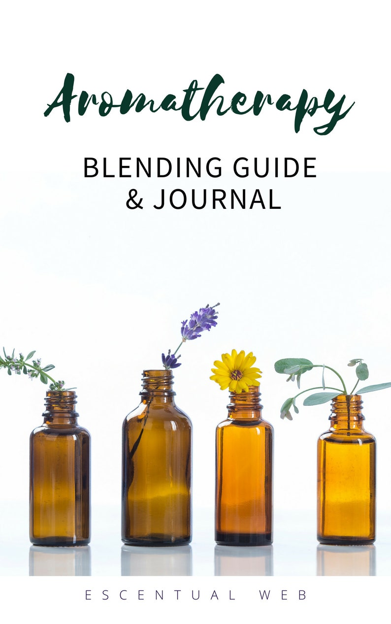 Aromatherapy Blending Guide and Printable Journal Pages image 0