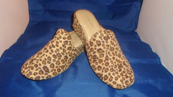 Vintage Daniel Green Glamour Cheetah Micro suede P