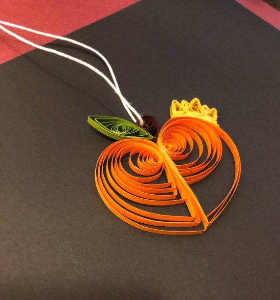 Quilled King Peach Ornament or Decoration Fruit Georgia Atlanta