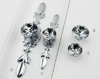 black glass cabinet pulls. Glass Drawer Knob Pull Crystal Dresser Knobs Pulls Handle Silver Chrome Clear Rhinestone Kitchen Cabinet Door Back Plate Bling Blings Black A