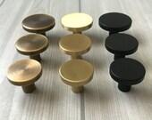 Brass Knobs Drawer Knob Pulls Handles Cabinet Door Knob Handle Pull Dresser Knob Black Antique Bronze Vintage Style Retro Lynns Hardware