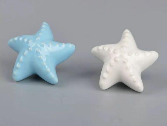 Nautical Drawer Knobs Starfish Knob Kids Knobs Dresser Knob | Etsy