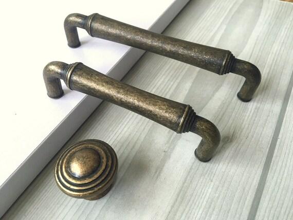 Cabinet Knobs Pulls Handles Drawer Knobs Pulls Handles Black Metal Dresser Pulls Handles Knobs Rustic Hardware Handles Pulls 3.75 5 6.3