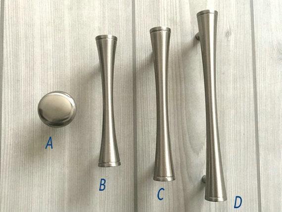 76 96 128 mm Schrank Türgriff Küchenschrank Griffe Möbel Griff | Etsy