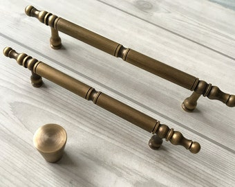 "4.25"" 5.25"" Antique Bronze Drawer Pulls Handles Retro Dresser - reserved"