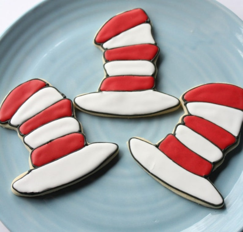 Cat in the Hat Cookie Cutters 6pc Dr Seuss Cookie Cutter Set FREE US SHiPPiNG