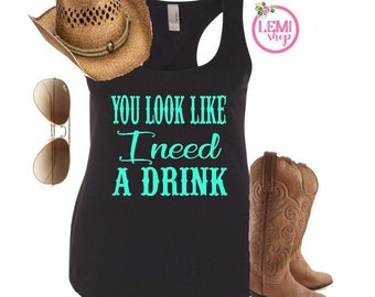 Items Similar To Country Girl Muscle Tank Country Concert Tank Top