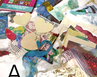 101 More Mixed Media Book Plus Collage Assortment
