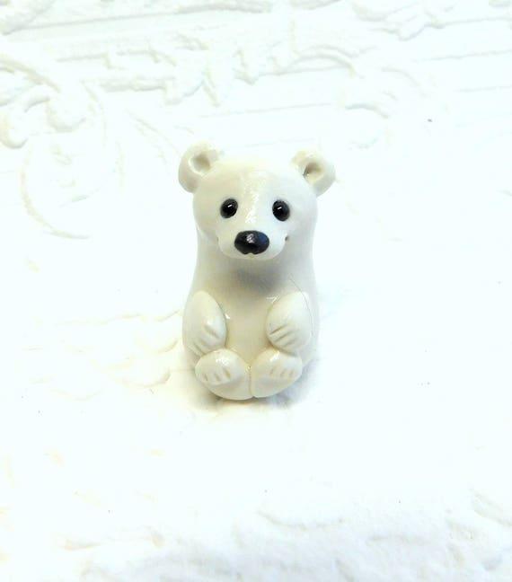 Totem Polar Bear Polar Bear Totem Sculpture Polar Bear Gift Etsy