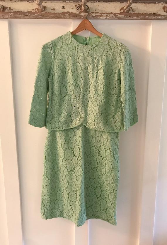 Vintage Lace Suit, 1960s Women's Clothes, vintage