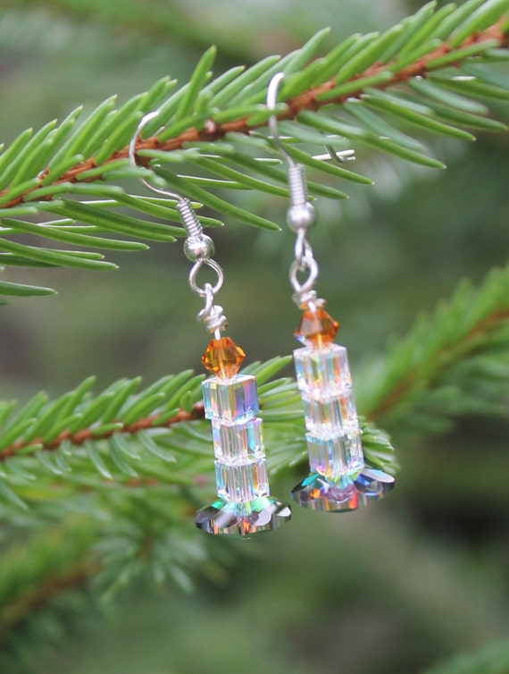 Christmas Candle Earrings