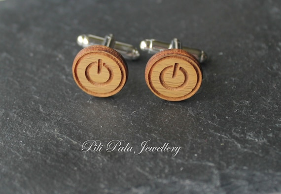 Wooden Accessories Company Questionnaire Cufflinks Wood Cufflinks Hand Made in The USA