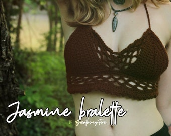 JASMINE - Crochet Festival Bralette