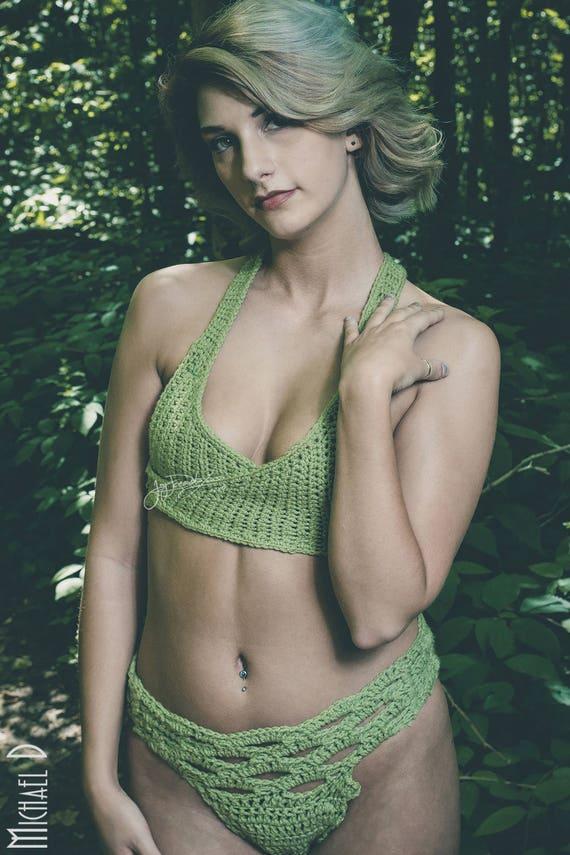 9382e8203088a Kymber BRALETTE TOP ONLY Cute Crossbody Tied Crochet