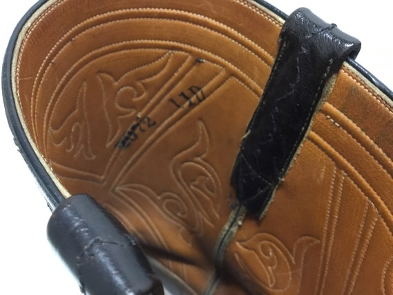 Mens 1970-80s Lucchese Boots, Lucchese western bo… - image 9