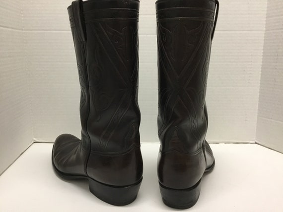 Mens 1970-80s Lucchese Boots, Lucchese western bo… - image 3