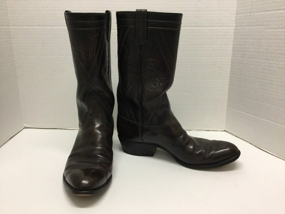 Mens 1970-80s Lucchese Boots, Lucchese western bo… - image 1