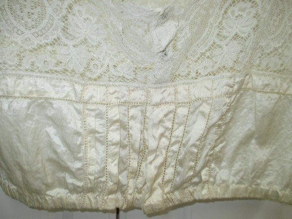 Edwardian Camisole, Victorian corset cover, 1900s… - image 2