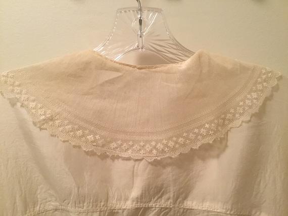 Edwardian/Victorian Blouse, Silk, Lace Antique bl… - image 7