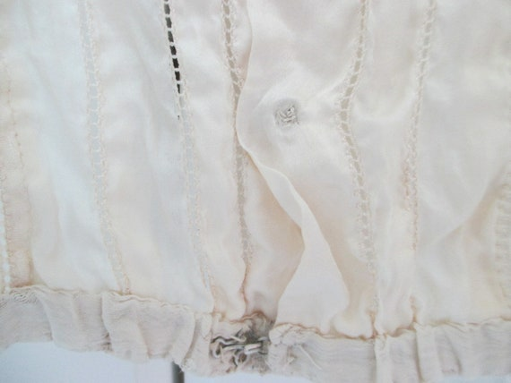 Edwardian Camisole, Victorian corset cover, 1900s… - image 5