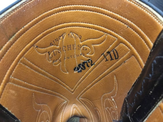 Mens 1970-80s Lucchese Boots, Lucchese western bo… - image 8