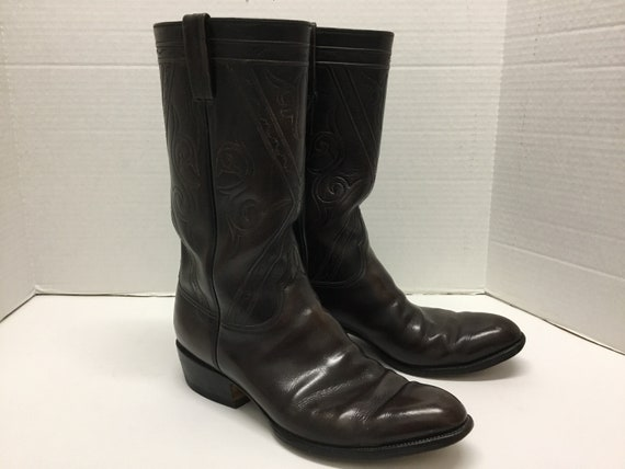 Mens 1970-80s Lucchese Boots, Lucchese western bo… - image 2