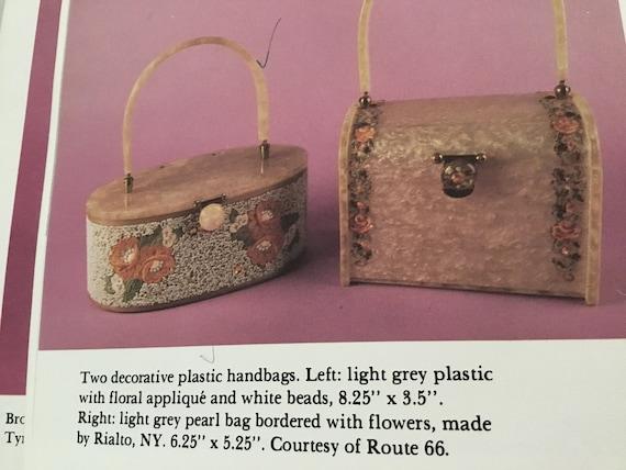 Rare Rialto Lucite Purse, Dooner Book page 38 Luc… - image 8