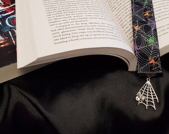 Spiders in the Corners Bookmark