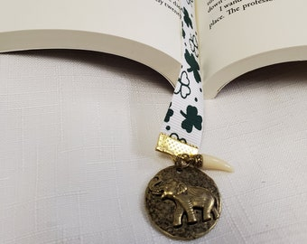 Lucky Elephant Bookmark