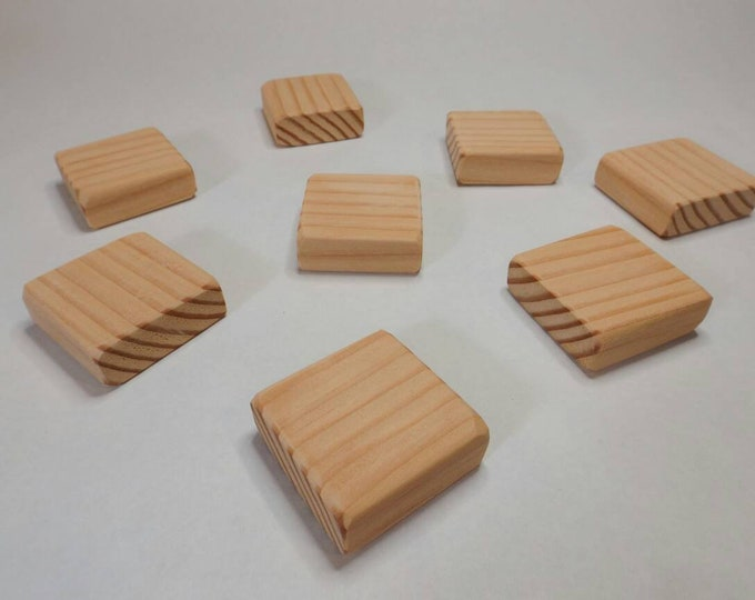 Wood Blocks / 2 Inch Square / Wooden Blocks / Unfinished Wood Blocks / Building Blocks / DIY Baby Block/ Baby Shower Activity / Craft Blocks