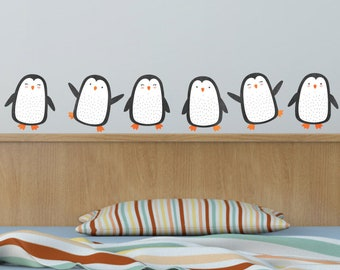 Playful Penguin 5 Wall Decal